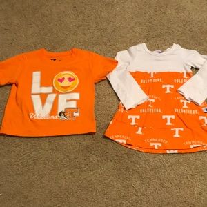 Other - Girls 3t UT shirt and Dress